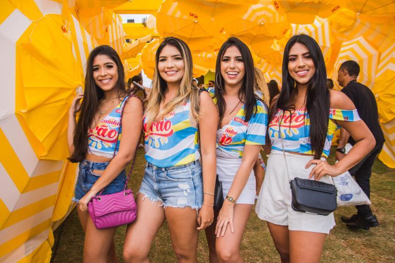 Soraia Moura, Leonor Gomes, Lorena Braga e Camila Ferreira