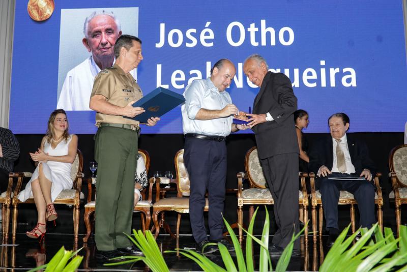 Gen Cunha Matos, Roberto Claudio e Otho Nogueira