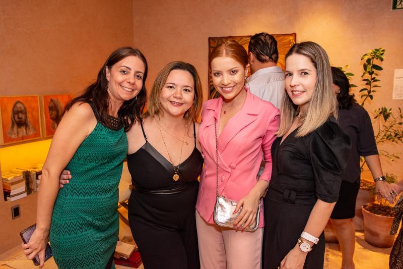 Vanessa Cordeiro, Amanda Arruda, Fernanda Borges e Rebeca Moura