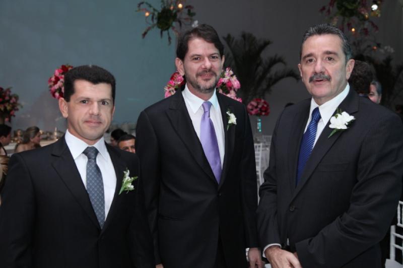 Erick Vasconcelos, Cid Ferreira Gomes e Bismarck Maia