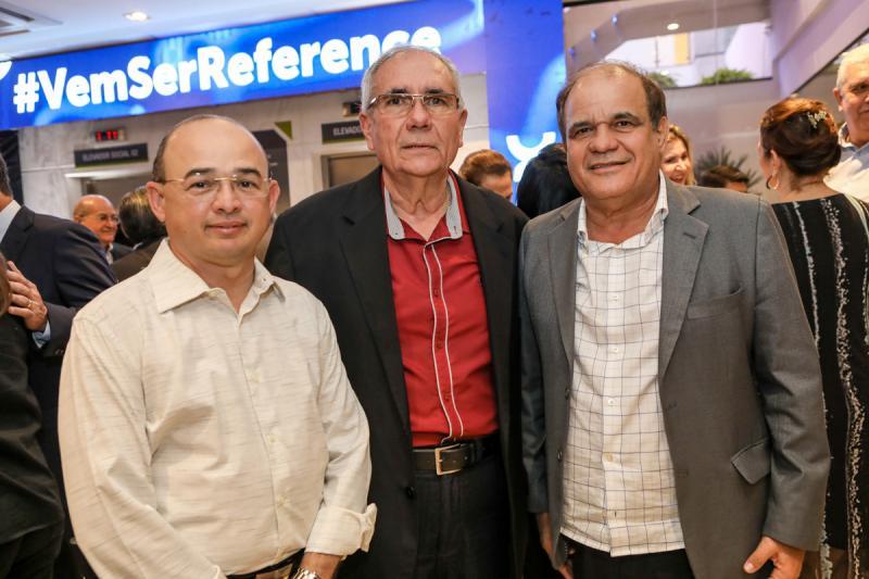 Sergio Aguiar, Sergio Braga e Roberto Moreira