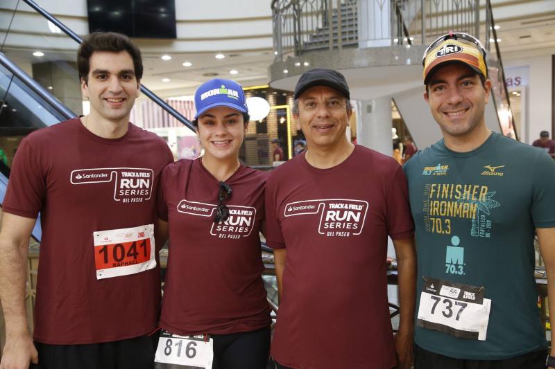 Raphael Nogueira, Mariana Fiuza, Eduardo Rolim e Iury Rodrigues