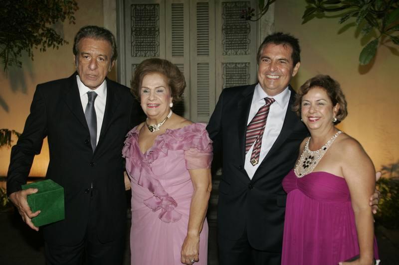 Everardo Teles, Beatriz Philomeno, Alfredo Gurjao e Julia Philomeno