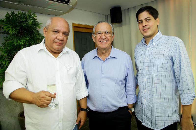 Pedro Alfredo, Candido Quinderé e Daniel Furlani