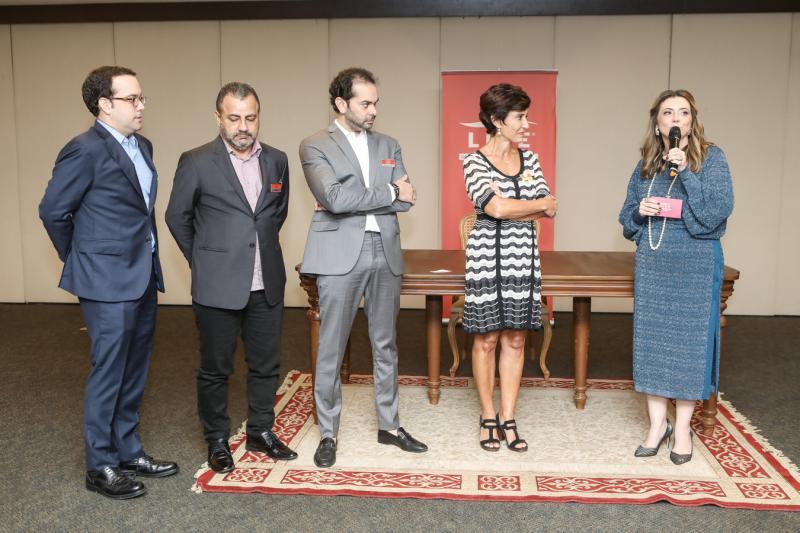 Ivo Machado, Vicente Junior, Claudio Vale, Silvia Bastos e Emilia Buarque
