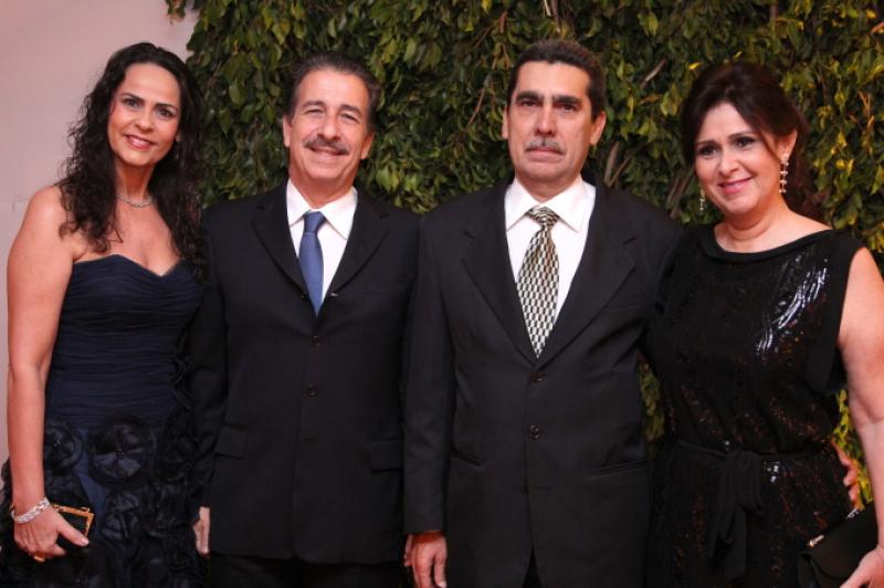 Katehrine e Emilio Ary, Joao e Marcia Pontes
