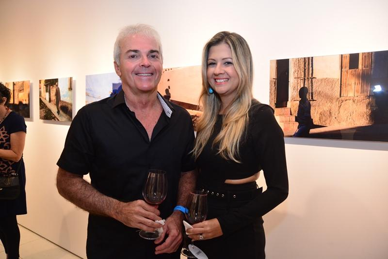 Fernanda Franco e Eduardo Rocha