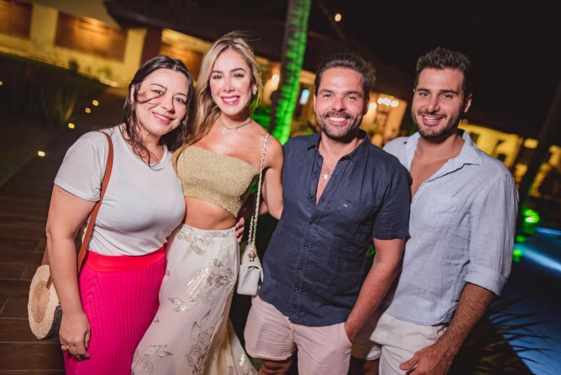 Lia Brasil, Priscilla Silva, Savio  Brito e Marcos Porto