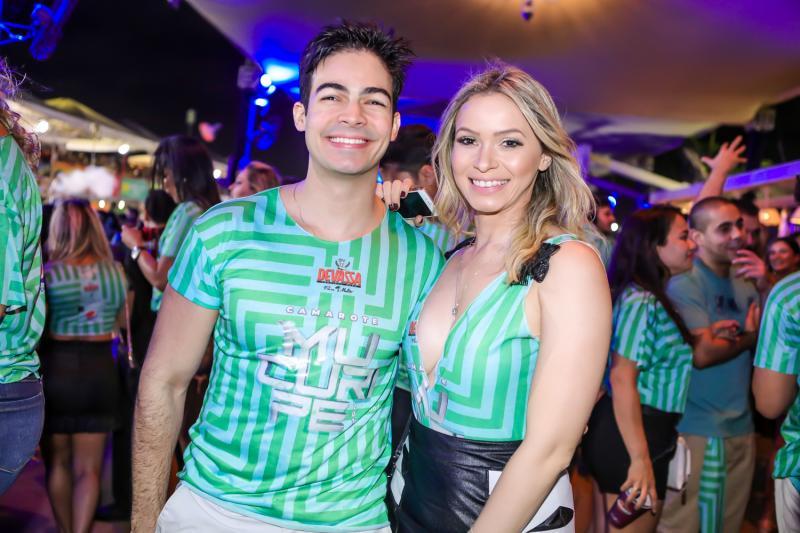Alberto Jorge e Jessica de Castro