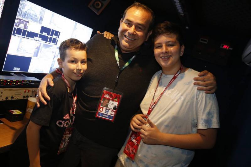 Felipe, Fabio e Henrique Ambrosio