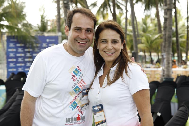 Salmito Filho e Patricia Macedo