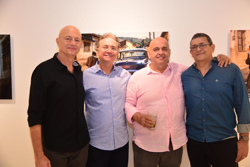 Demetrio Jereissati, Rigoberto Tavares, Claudio Milerio e Jose Guedes