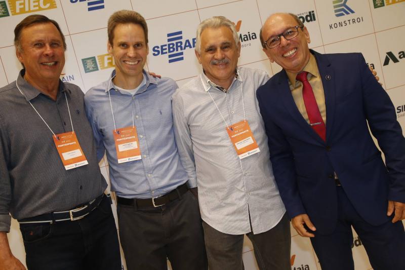 Jose Simoes, Jorge Dantas, Emanuel Capistrano e Andre Montenegro