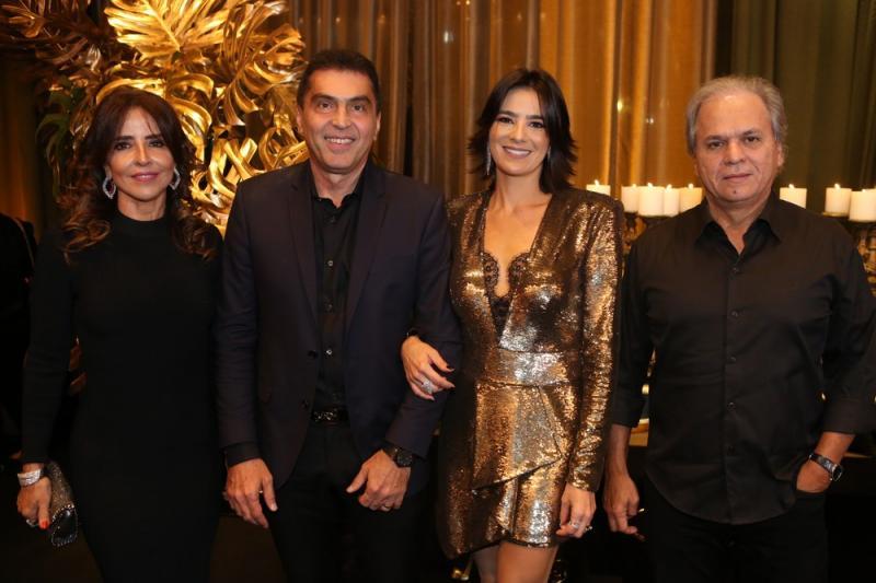 Denise, Idezio, Maryana e Ricardo Rolim