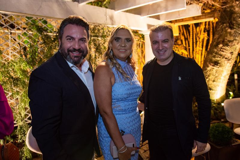 Mario Sergio Garcia, Paula Athayde e Ubirajara Bazani
