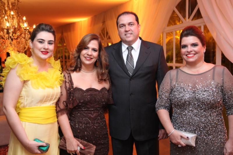 Lia Pinheiro, Martinha e George Assuncao e Silvinha Carneiro