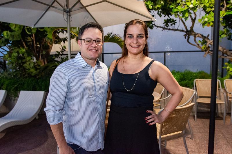 Mario Jales e Luciana Pordeus