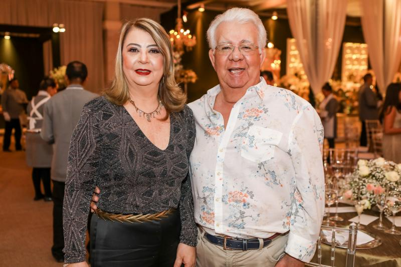 Evalda e Carlos Malheiros