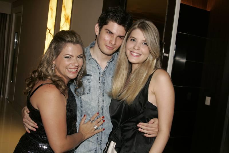 Vanessa Queiros, Marcelo Freire e Andressa Sampaio