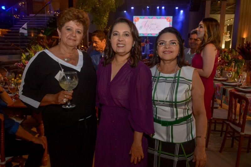 Berenice Paixao, Vania Procopio e Socorro Martins