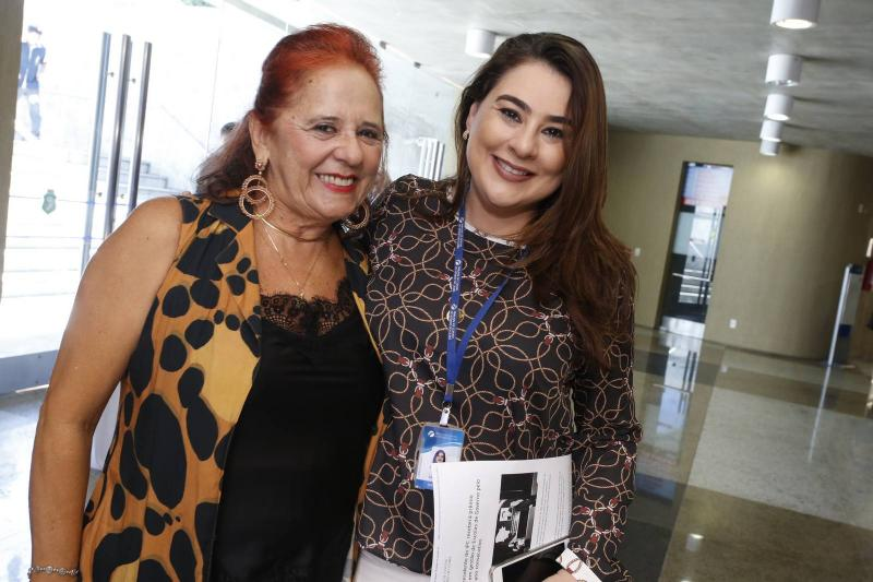 Fatima Duarte e Lia Pinheiro
