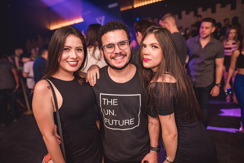 Barbara Uchoa, Lucas Leite e Joise Uchoa