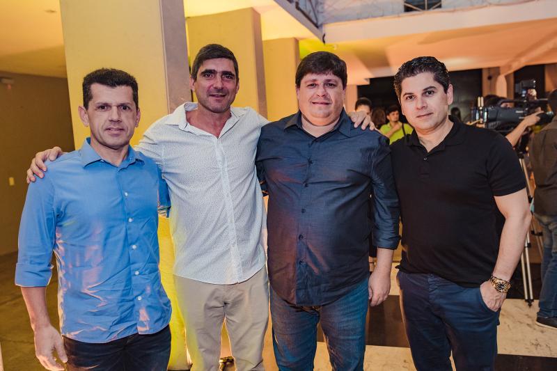 Erick Vasconcelos, Agustim Herrero, George Lima e Pompeu Vasconcelos