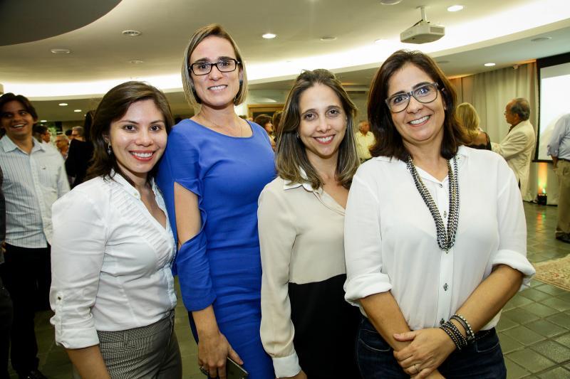 Rafaelle Pinheiro, Victoria Bouzas, Beatriz Bezerra e Anamaria Xavier