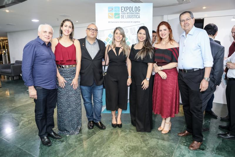 Alessandra Romano, Carlos Alberto, Sandrine Montalverne, Luiza Dantas, Enid Camara e Ricardo Parente