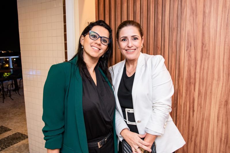 Andrea Tavares e Alexandra Alves
