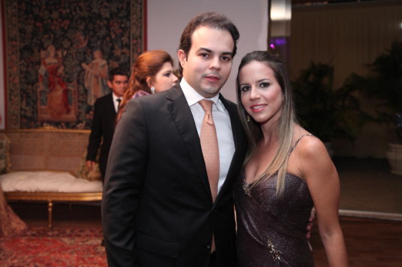 Drauzio e Isabela Barros Leal