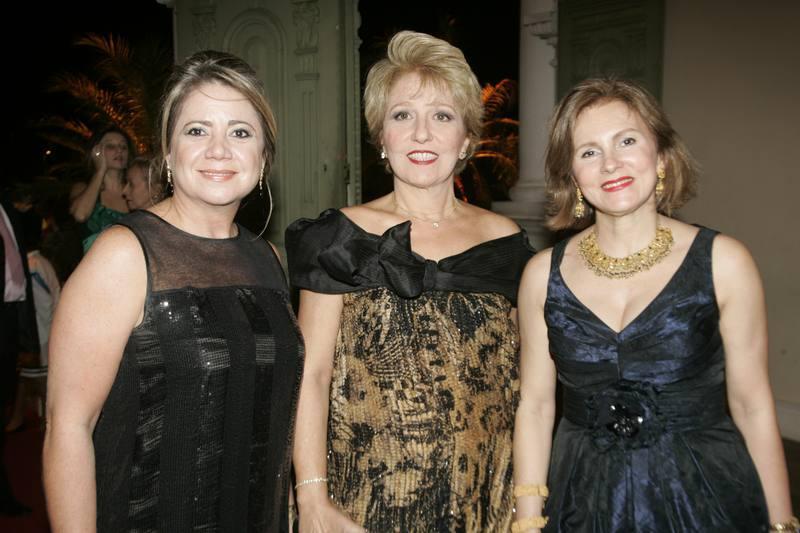 Bernadete Leal, Cecilia Pinheiro e Renata Jereissati
