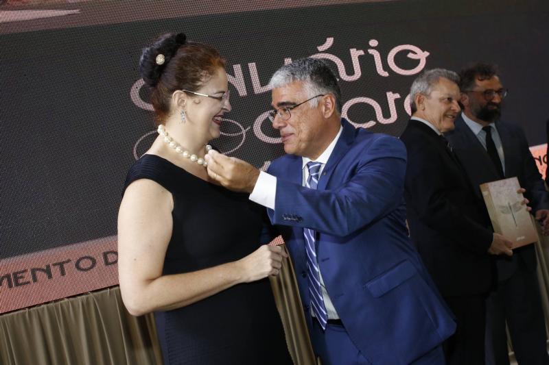 Luciana Dummar e Luiz Eduardo Girao