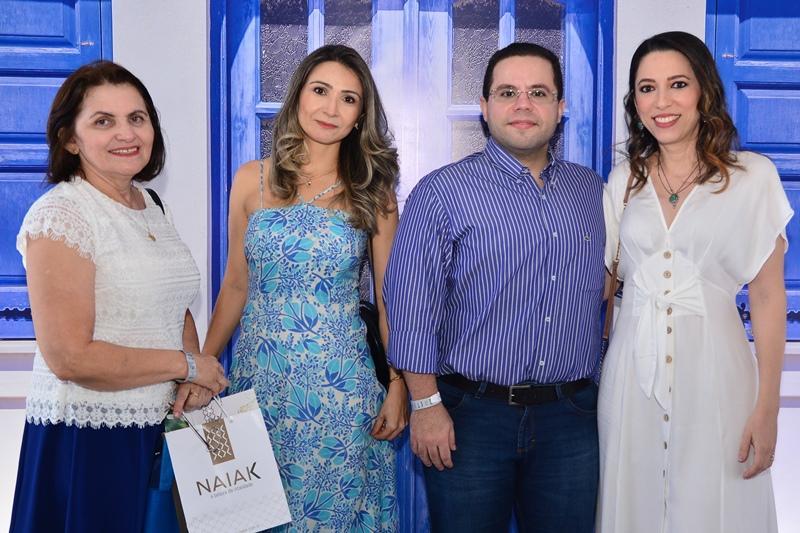 Doralice Araujo, Rosalia Alves, Ricardo Decio e Clarissa de Abreu