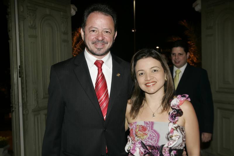 Acrisio e Leticia Sena