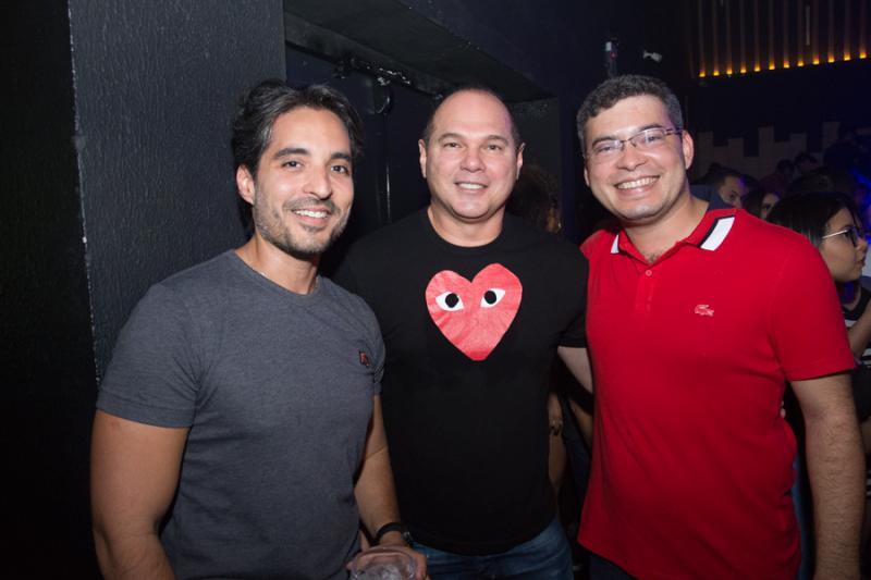Rodrigo Porto, Freita Junior e Felipe Ribeiro