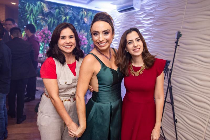 Ana Cecilia, Mabel Portela e Marilia Braga