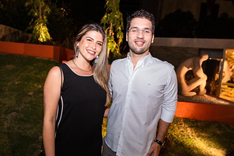 Natalia Benevides e Guilherme Albuquerque