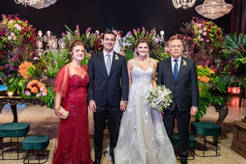 Ana Cleide, Jose Carlos, Isabele Studart e Jose Carlos
