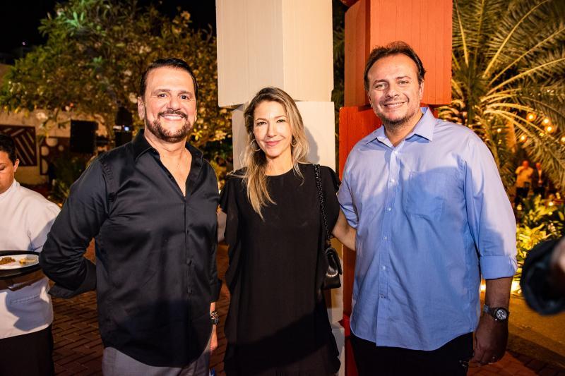 Adrisio Camara, Carmen Rangel e Adriano Nogueira