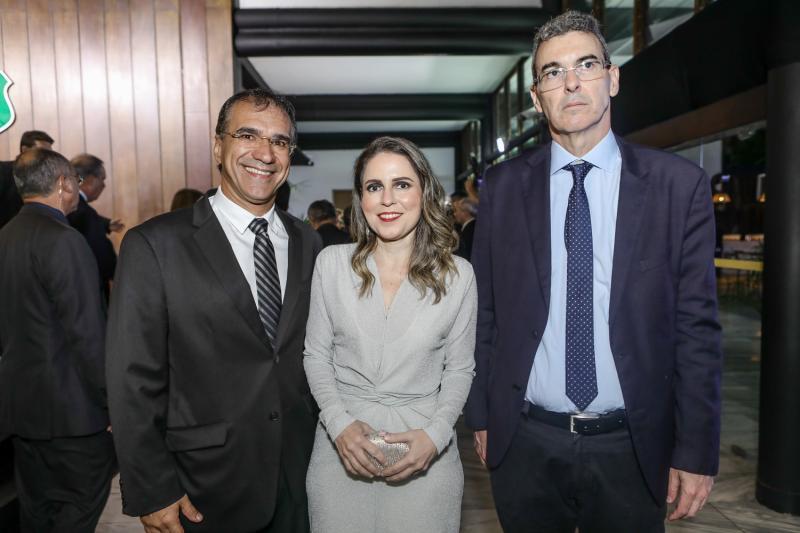 Eduardo Neves, Agueda Muniz e Geraldo Luciano