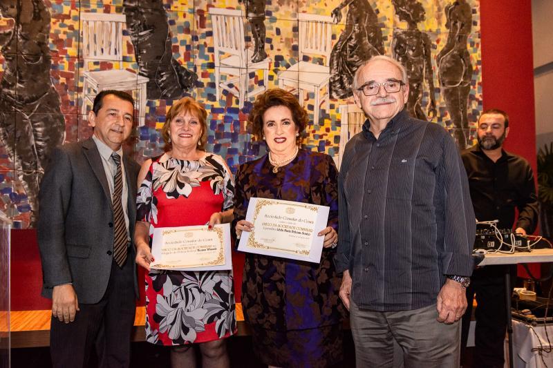 Roberto Marinho, Reinhilde Lima, Leda Maria e Ednilton Soarez