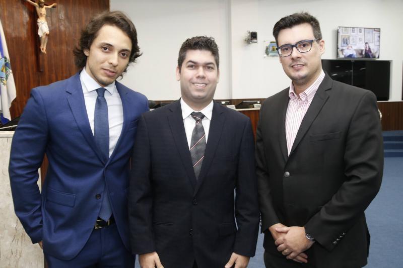 Celso Miranda, Mauro Benevides Neto e Urbano Filho