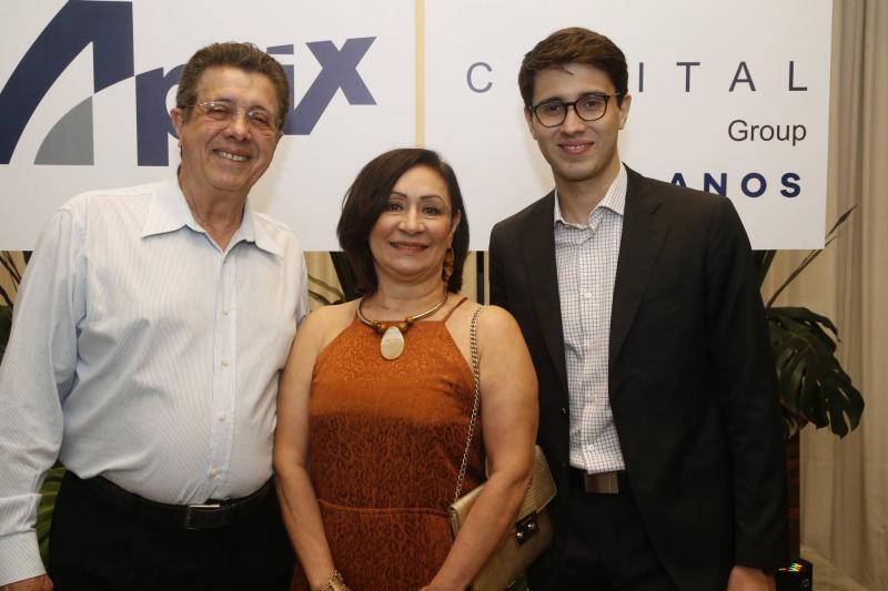 Joao Sampaio, Fatima e Alberto Saboia