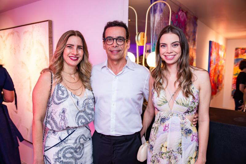 Karmilse Marinho, Gustavo Porto e Nicole Marinho