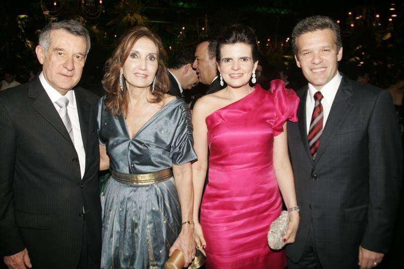 Valmir e Marizalva Campelo, Cristine e Ferruccio Feitosa
