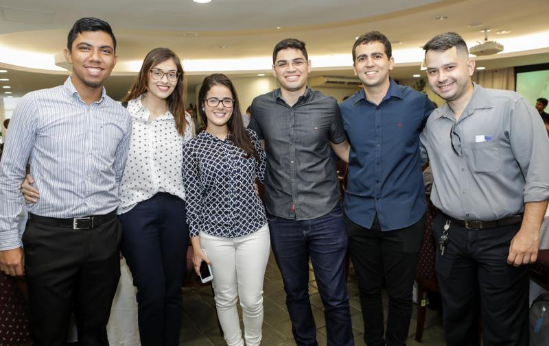Yuri Cunha, Catarina Gurjao, Ingrid Collyer, Tiago Guimaraes, Renan Mourao e Pedro Felipe