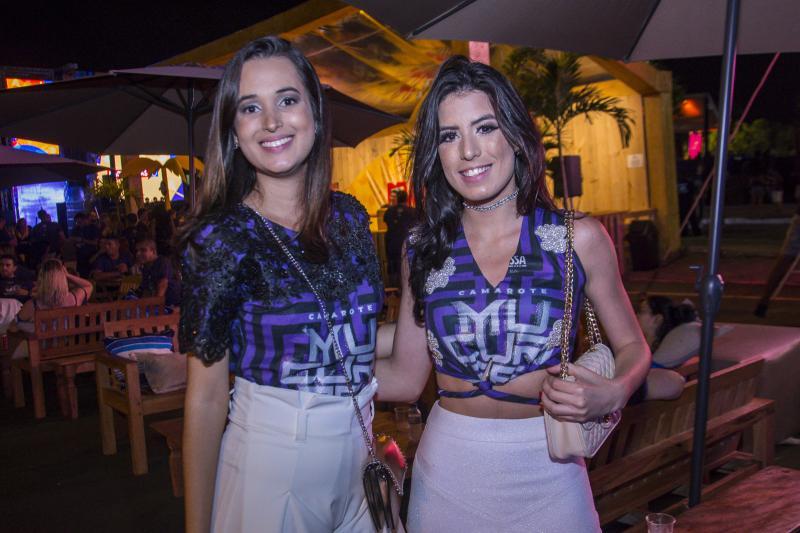 Yasmin Sales e Rayra Castro
