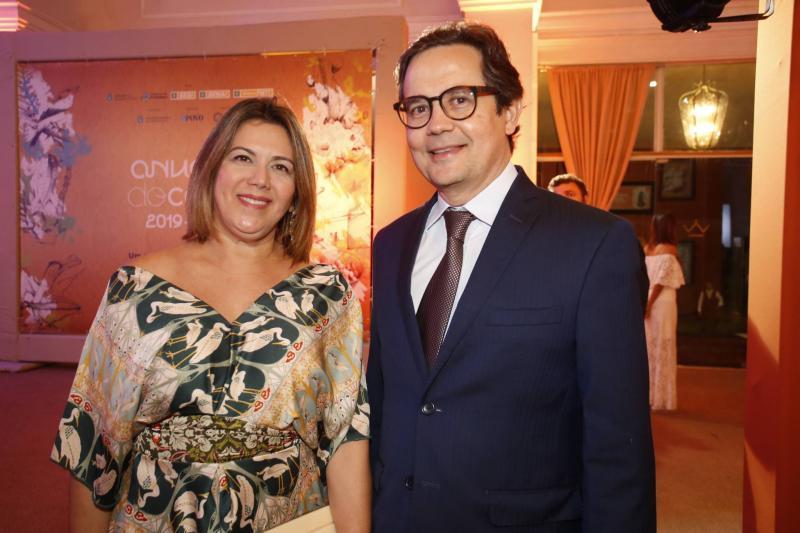 Adriana Joca e Edilberto Ponte