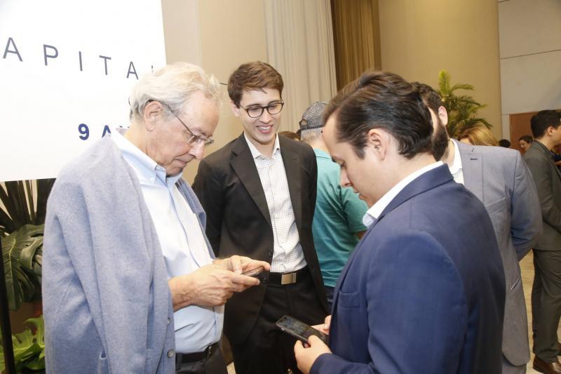 Luiz Alves, Alberto Saboia e Yuri VEras
